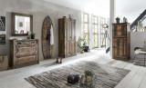 Șifonier Indochina, 180x45x80 cm, lemn reciclat, multicolor