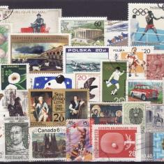 91 - Lot timbre diverse tari