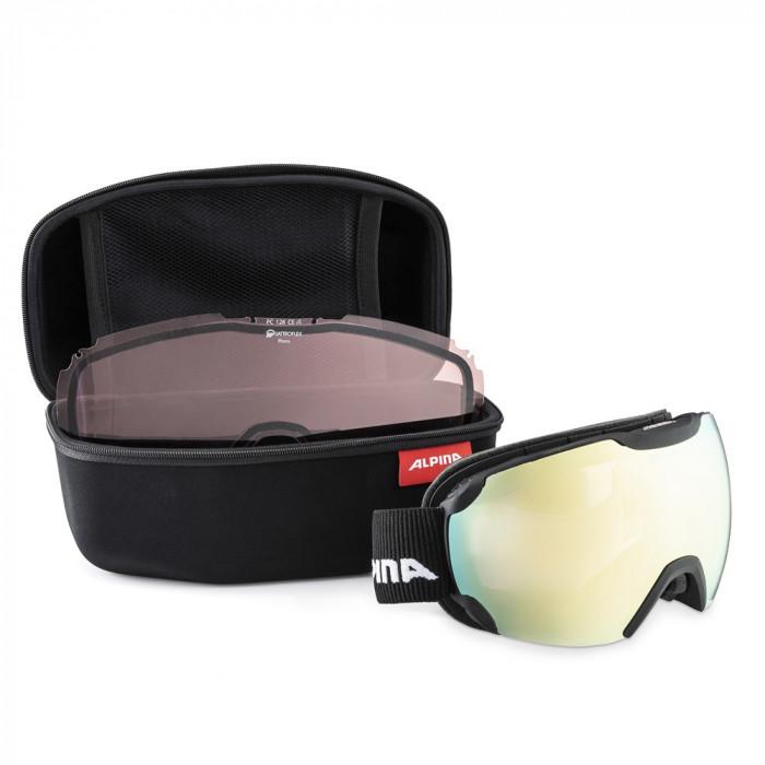 Husa ochelari Alpina Multicase Black