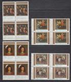 1983 LP 1085 REPRODUCERI DE ARTA CONTEMPORANA CORNELIU BABA BLOCURI DE 4 MNH, Nestampilat