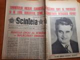 Scanteia 25 ianuarie 1988-ziua de nastere a lui ceausescu