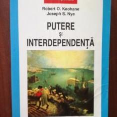 Putere de interdependenta- Robert O.Keohane, Joseph S.Nye