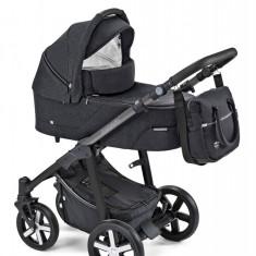Carucior 2 in 1 Baby Design Husky Winter Pack 10 Black 2019