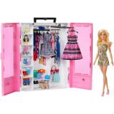 Cumpara ieftin Barbie Dulapior Cu Hainute Si Papusa