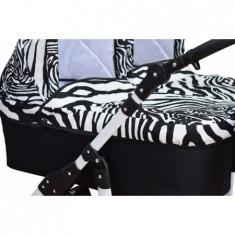 Carucior gemeni 3 in 1 Zebra PJ Stroller