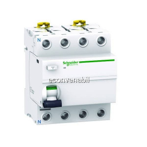 Intrerupator Automat Modular Dif. Schneider iID Vigi A9R41425 4P 25A