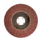 Disc pentru slefuit lemn, metal, MTX 740439, dimensiune 125x22.2 mm, P60