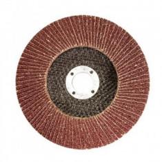 Disc pentru slefuit lemn, metal, MTX 740479, dimensiune 125x22.2 mm, P100