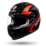 Cumpara ieftin Casca viziera rabatabila ISPIDO RACE SV culoarea negru gri rosu, marimea 2XL unisex