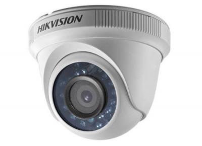 Camera supraveghere Hikvision DS-2CE56C0T-IRPF28 DOME TURBOHD 720P 2.8MM foto