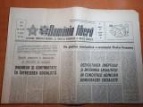 romania libera 27 martie 1984-art.orasul pitesti si borzesti,minerii din uricani