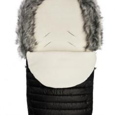 Sac de iarna Sensillo ELF Polar Negru 100x46 cm