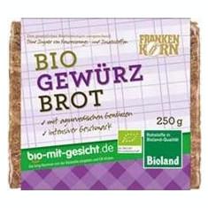 Paine cu Condimente Bio Frankenkorn 250gr Cod: 421953