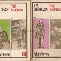Fratii Karamazov. Roman In Patru Parti Si Epilog - F. M. Dostoievski, 1982, F.M. Dostoievski