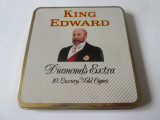 Pachet gol din tabla King Edward-Diamonds Extra 10 luxury mild cigars