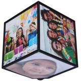 Cub foto rotativ 360 grade cu 6 poze 15 x 15 cm, Oem