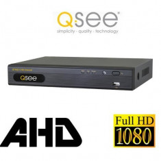 Videorecorder DVR AHD 4 Canale Video 1080p 1 Audio Real Time Q-See