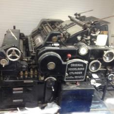 utilaje tipografice, masina dev tiparit; stanta Heidelberg Cylinder 40/57