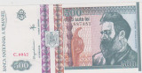 500 LEI DECEMBRIE 1992/UNC