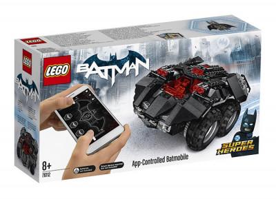 LEGO DC Super Heroes - Batmobil controlat de aplicatie 76112 foto