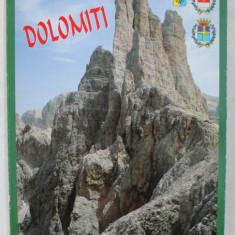 LE DOLOMITI , ALBUM FOTOGRAFIC , EDITIE IN LIMBA ITALIANA