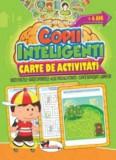 Jocuri pentru copii inteligenti. Carte de activitati +4 ani/***