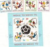 Campionatele mondiale de fotbal Mexic Serie si colita LP 729
