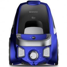 Aspirator fara sac Daewoo RCC-230L/3A, 800 W, 2.5L, Tub telescopic din metal, Albastru