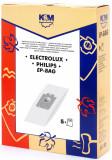 Sac aspirator Electrolux-Philips Universal (S-Bag), hartie, 5X saci, KM