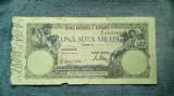 100000 Lei 20 decembrie 1946 Romania