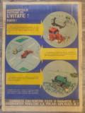 Afis Protectia Muncii din perioada comunista// Evitarea accidentelor auto