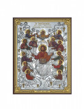 Icoana Pomul Vietii Argint cu Auriu 8x11cm Cod Produs 2865