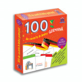 100 de cuvinte in limba germana - joc bilingv/Didactica Publishing House