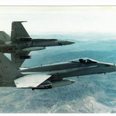 ANGLIA  - AVIATIE. AVION MILITAR F/A-18 HORNET. ILUSTRATA NECIRCULATA, N23