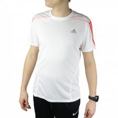 Tricou Adidas QUE SS Tee F91933 pentru Femei, Alb, L, M