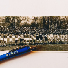 Foto fotbal ASA TARGU-MURES-SAO BENTO SOROCABA(Brazilia-cu autografe!)