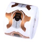 Sabloane Unghii Gel Plastifiate LUXORISE, 500 buc