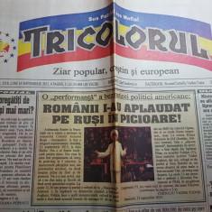 Ziarul tricolorul 14 septembrie 2015-corneliu vadim tudor