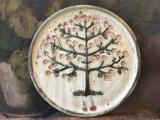 Arta / Decor - Farfurie deosebita din ceramica design Topferei Pasch / Austria !