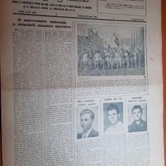 Sportul popular 26 iunie 1954-infloreste sportul in patria noastra,volei
