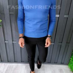 Pulover fashion barbati - albastru - COLECTIE NOUA A6456