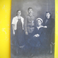 HOPCT 234 M   FOTOGRAFIE VECHE MILITARI ROMANI TIP CP, Militar, Romania 1900 - 1950