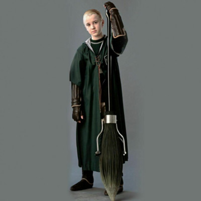 Roba / Capa / Mantie - HARRY POTTER Jocul Quidditch - Slytherin foto