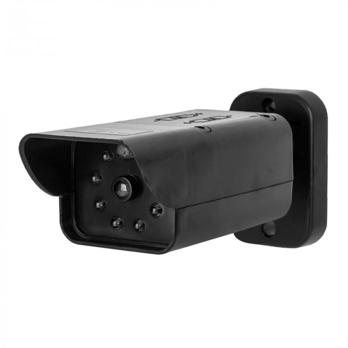 Camera de securitate falsa, LED intermitent, Negru