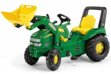 Tractor cu pedale copii Rolly Toys 046638 verde