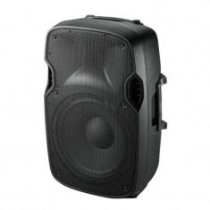 Boxa acustica activa 12 inch, reglaje pentru microfon, ecou, joase, inalte, 250 W