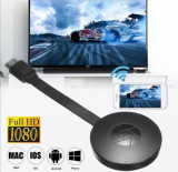 HDMI Streaming ChromeCast 4K Media Player Wi-Fi Wireless Receiver
