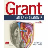 Grant. Atlas de anatomie - Anne M.R. Agur, Arthur F. Dalley II (Ediția a XIV-a)