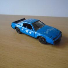 Macheta auto Pontiac Firebird, Corgi, Marea Britanie, an 1982