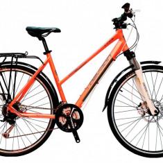 Bicicleta Dama Devron Trekking Lady LT3.8 M 520mm Copper Gray 28